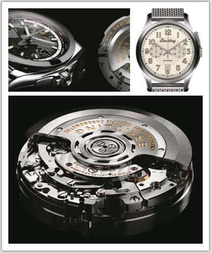 What about the movement of Breitling Replica Watches?