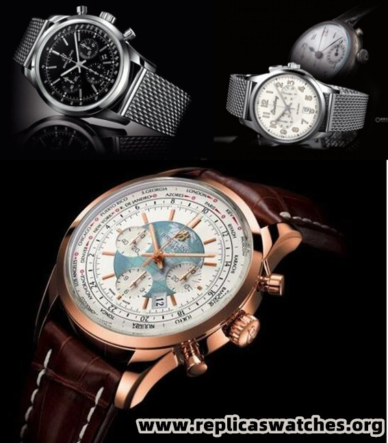 Time Travel Breitling Transocean Unitime World Time Chronograph